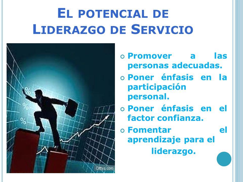 El potencial de Liderazgo de Servicio