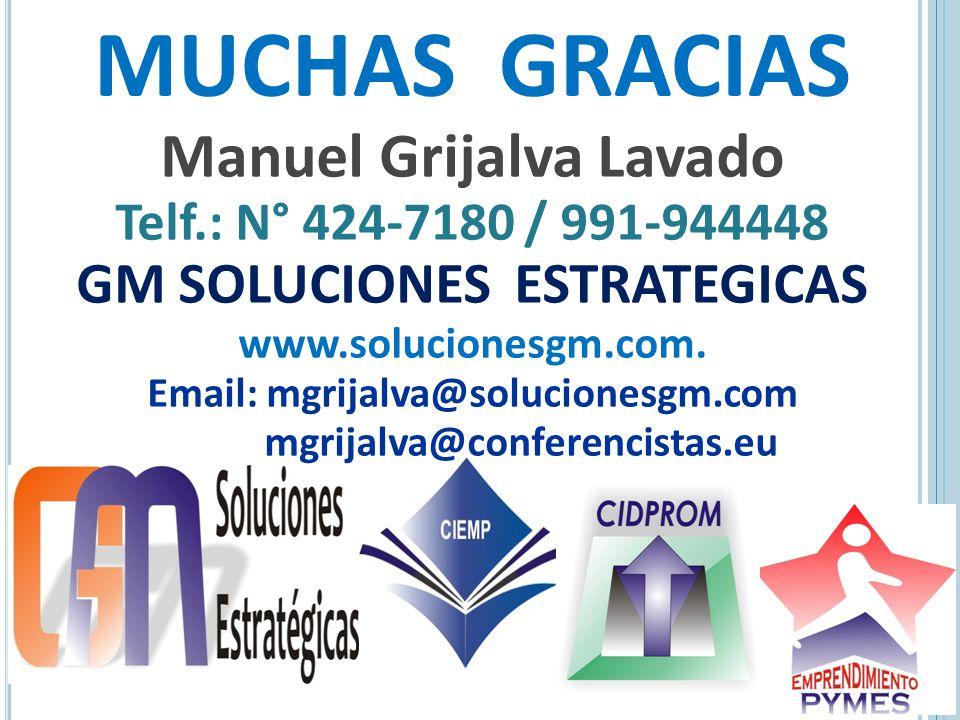 Manuel Grijalva Lavado GM SOLUCIONES ESTRATEGICAS