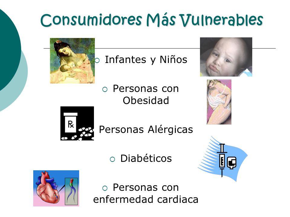 Consumidores Más Vulnerables