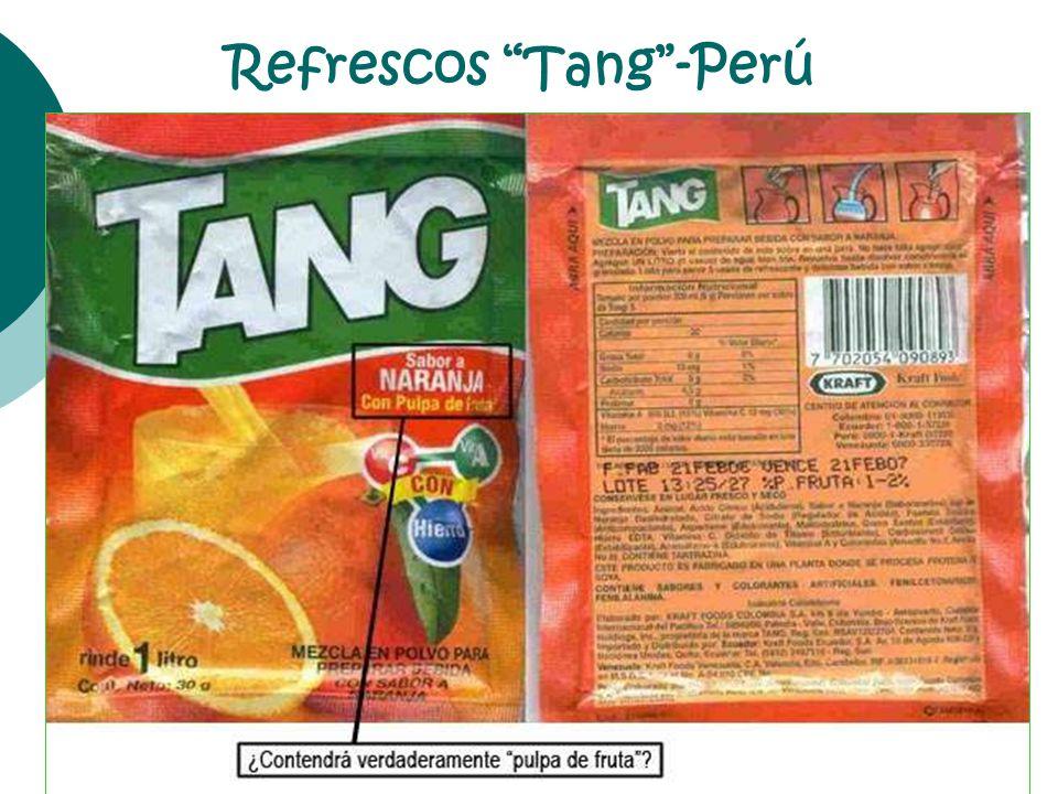 Refrescos Tang -Perú
