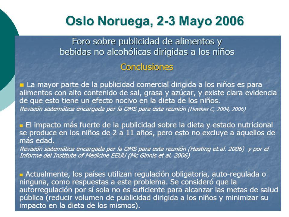 Oslo Noruega, 2-3 Mayo 2006