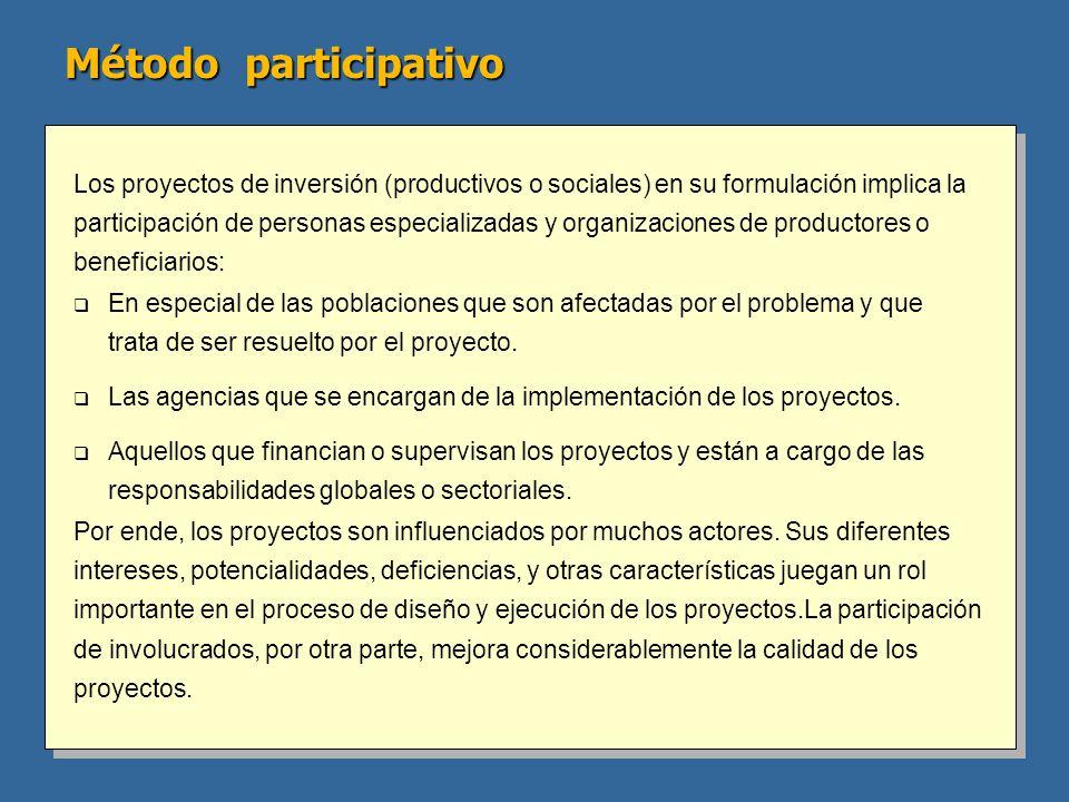Método participativo