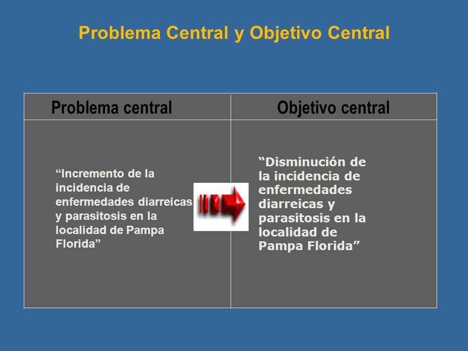 Problema Central y Objetivo Central