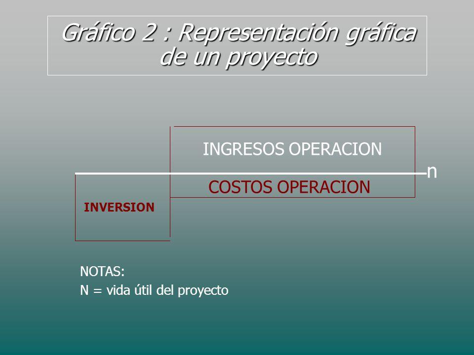 Gráfico 2 : Representación gráfica de un proyecto
