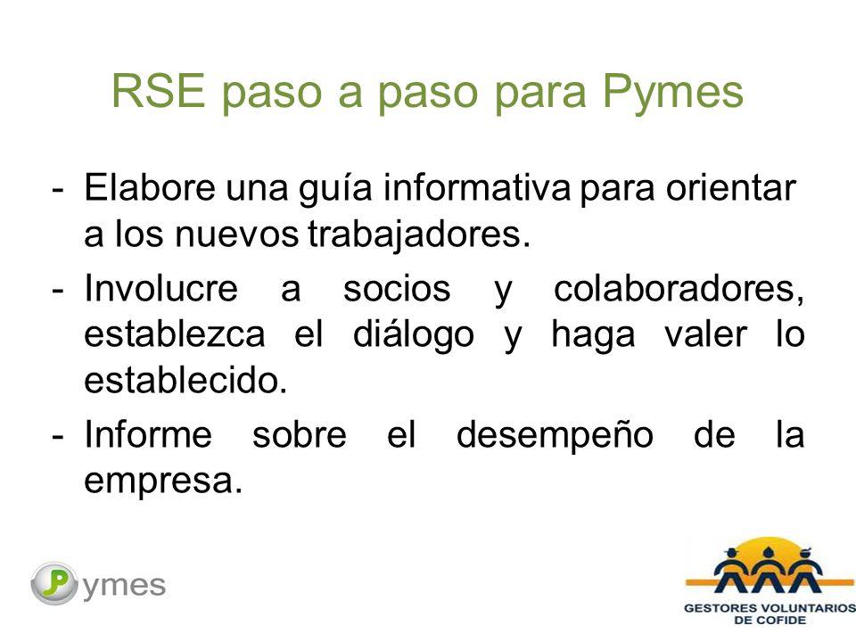 RSE paso a paso para Pymes