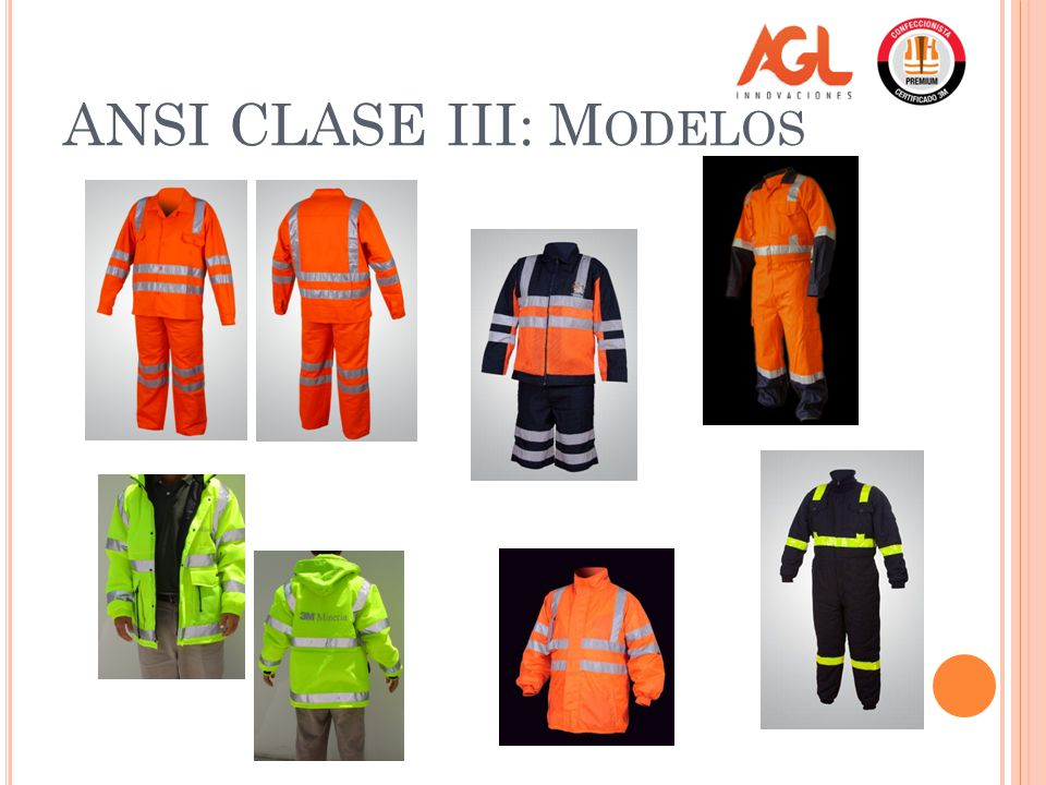 ANSI CLASE III: Modelos