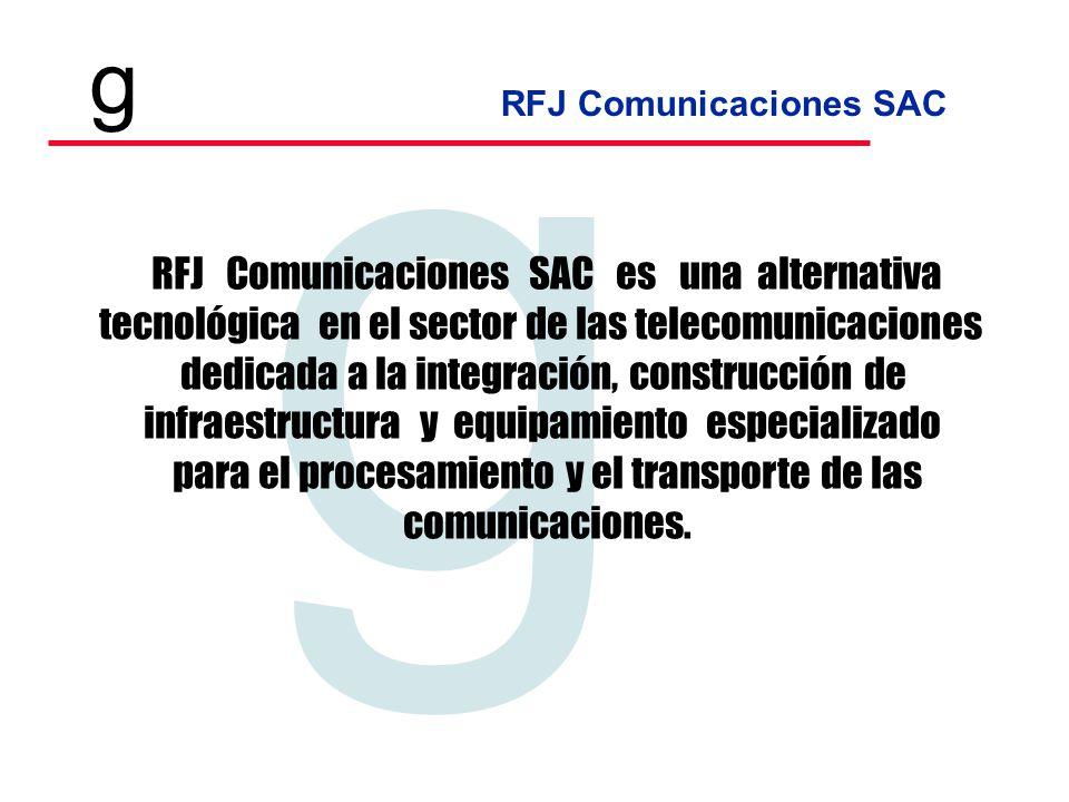 RFJ Comunicaciones SAC es una alternativa