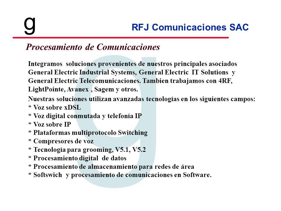 Procesamiento de Comunicaciones