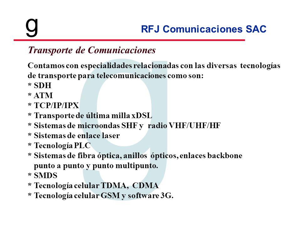 Transporte de Comunicaciones