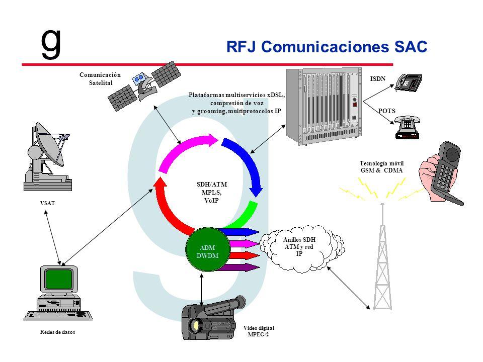 Plataformas multiservicios xDSL, y grooming, multiprotocolos IP