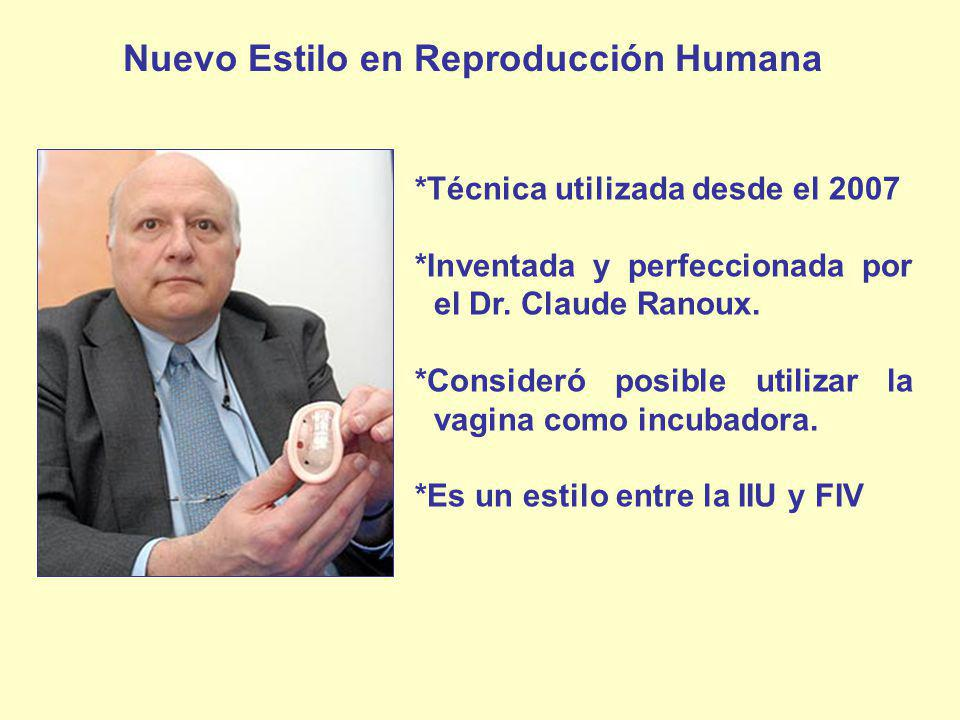 Nuevo Estilo en Reproducción Humana