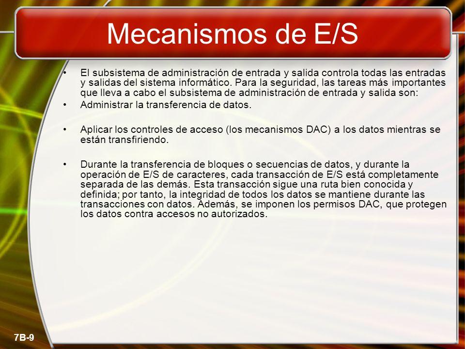 Mecanismos de E/S