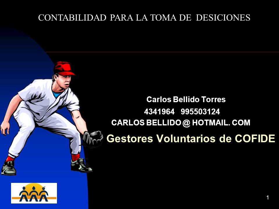 CARLOS BELLIDO @ HOTMAIL. COM