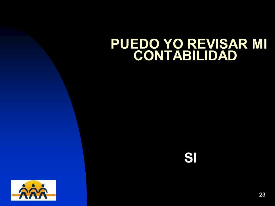 PUEDO YO REVISAR MI CONTABILIDAD