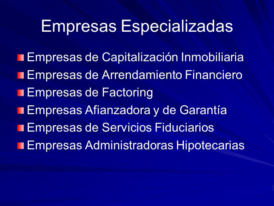 Empresas Especializadas
