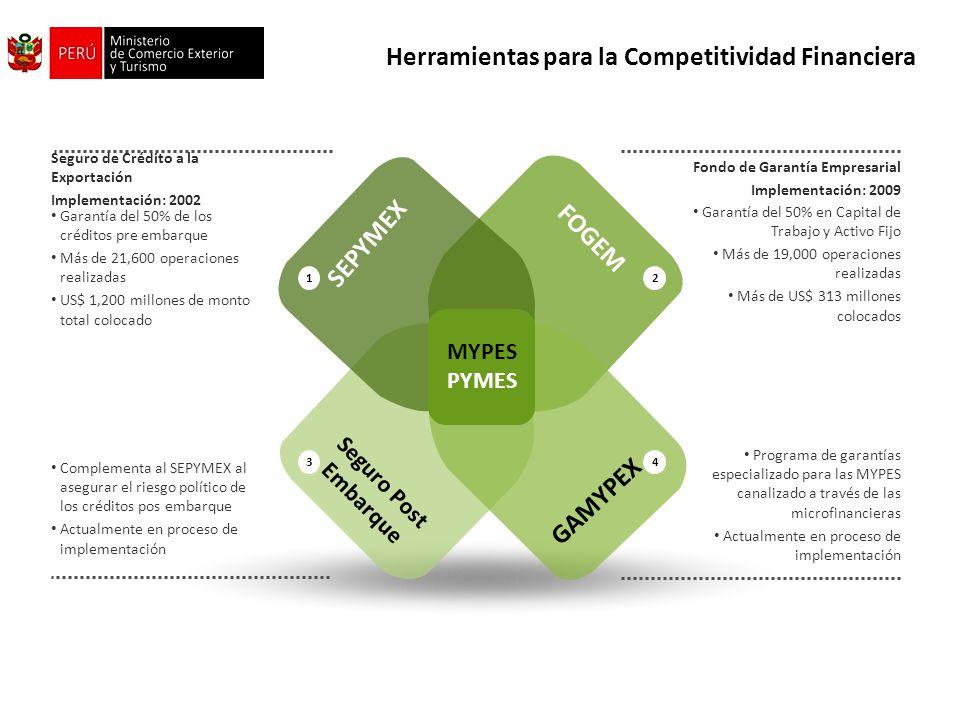 Herramientas para la Competitividad Financiera
