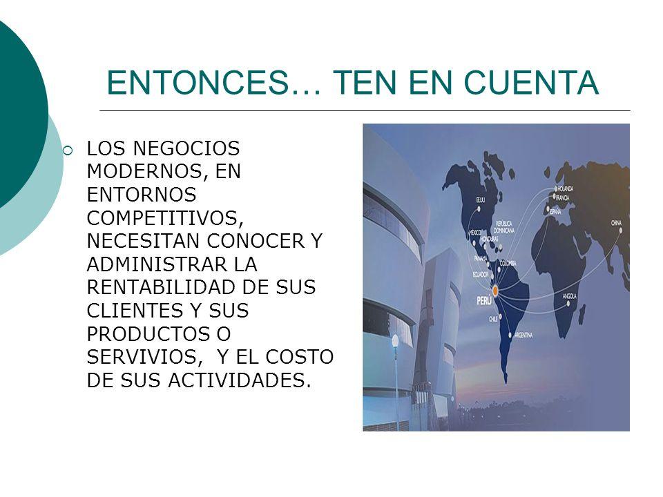 ENTONCES… TEN EN CUENTA