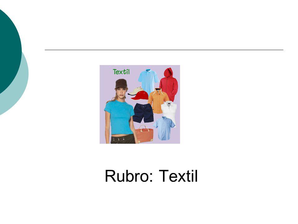 Rubro: Textil