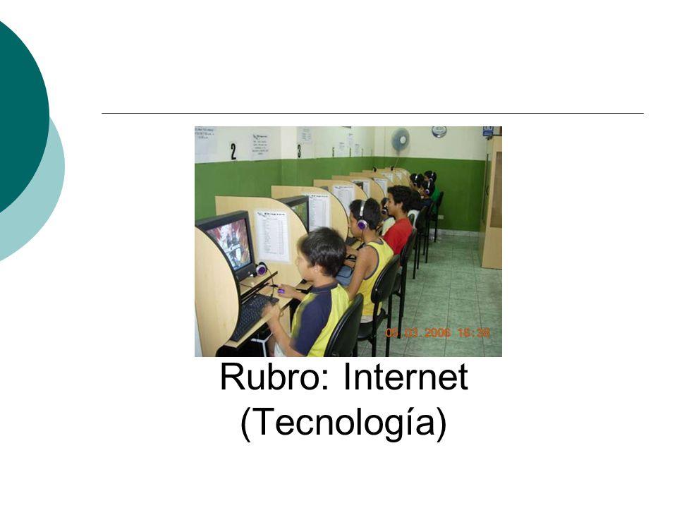 Rubro: Internet (Tecnología)