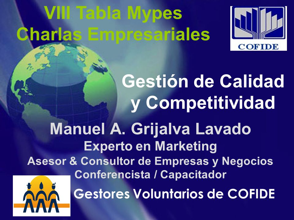 VIII Tabla Mypes Charlas Empresariales