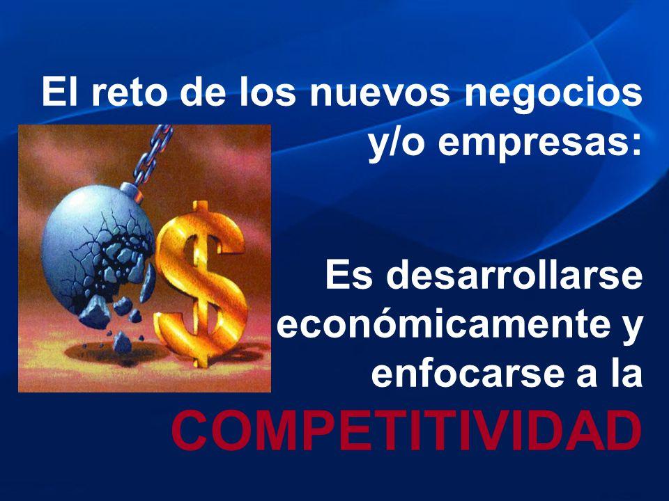 El reto de los nuevos negocios y/o empresas: