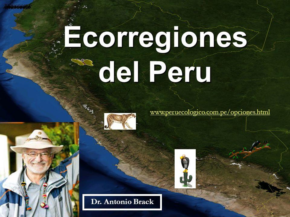 Ecorregiones del Peru Dr. Antonio Brack
