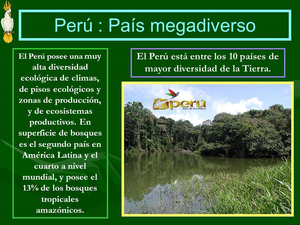 Perú : País megadiverso