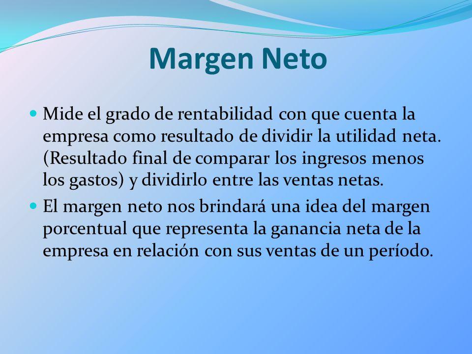 Margen Neto