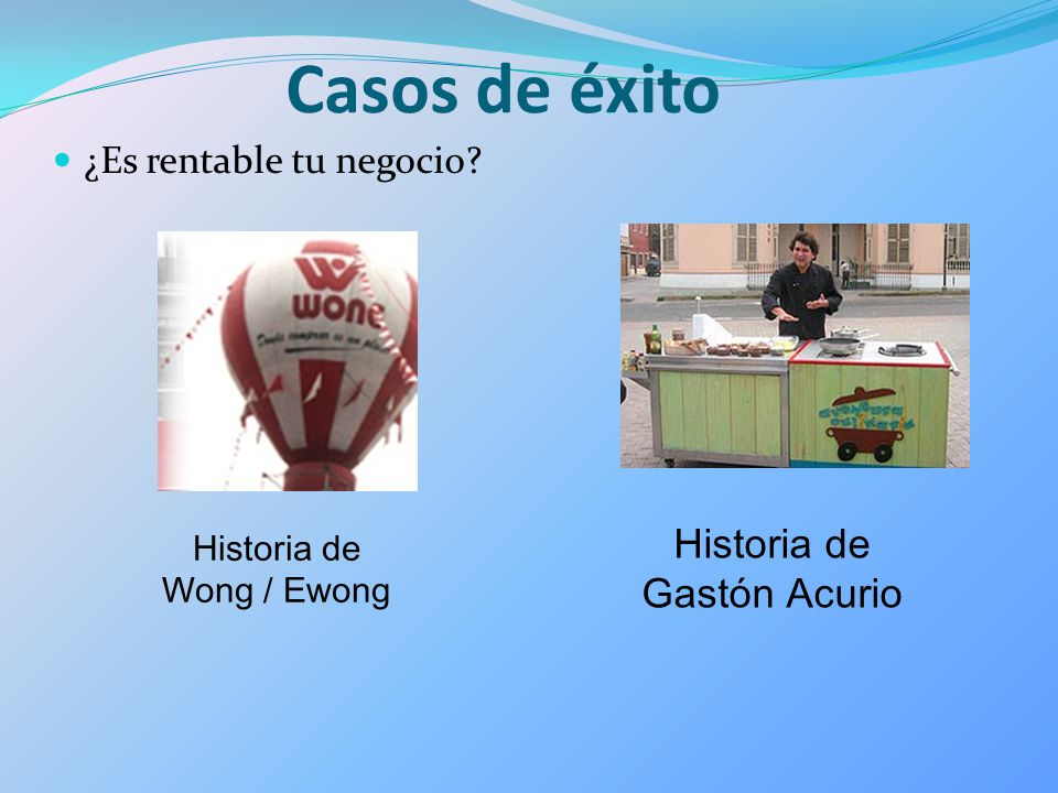 Casos de éxito Historia de Gastón Acurio ¿Es rentable tu negocio