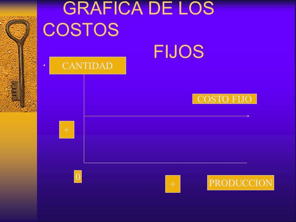 GRAFICA DE LOS COSTOS FIJOS