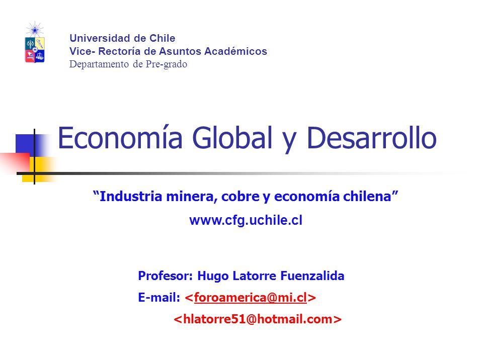 Economía Global y Desarrollo