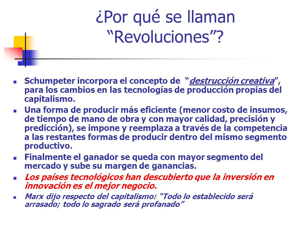 ¿Por qué se llaman Revoluciones