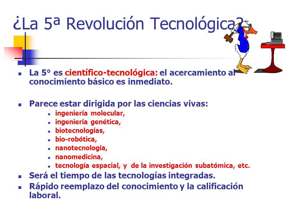 ¿La 5ª Revolución Tecnológica