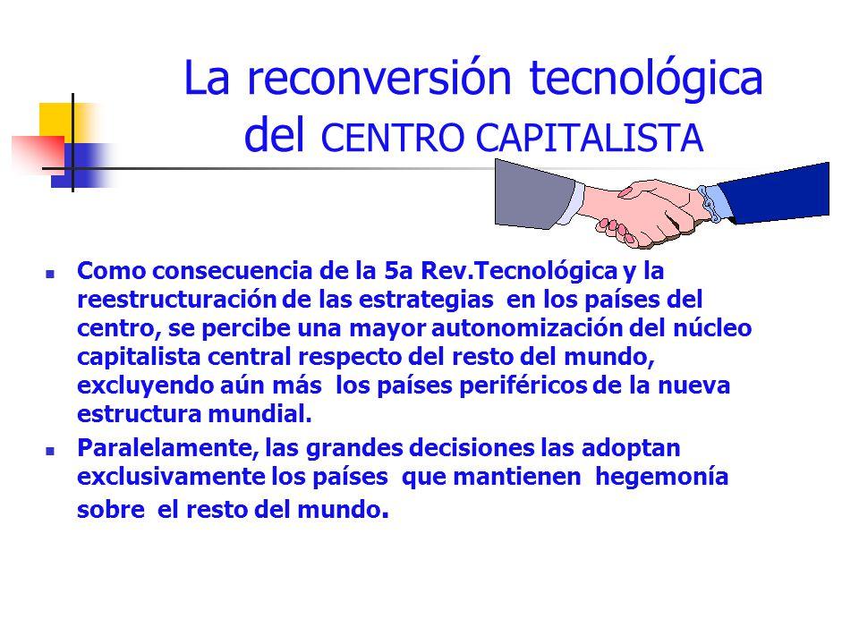 La reconversión tecnológica del CENTRO CAPITALISTA