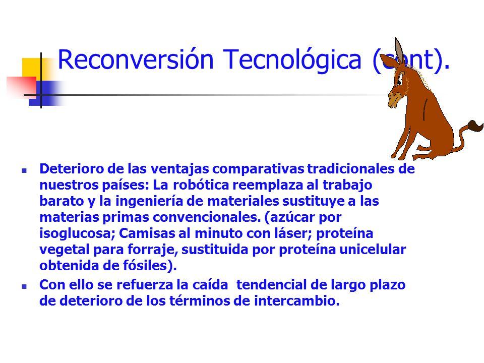 Reconversión Tecnológica (cont).