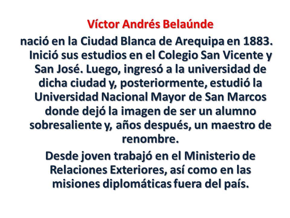 Víctor Andrés Belaúnde