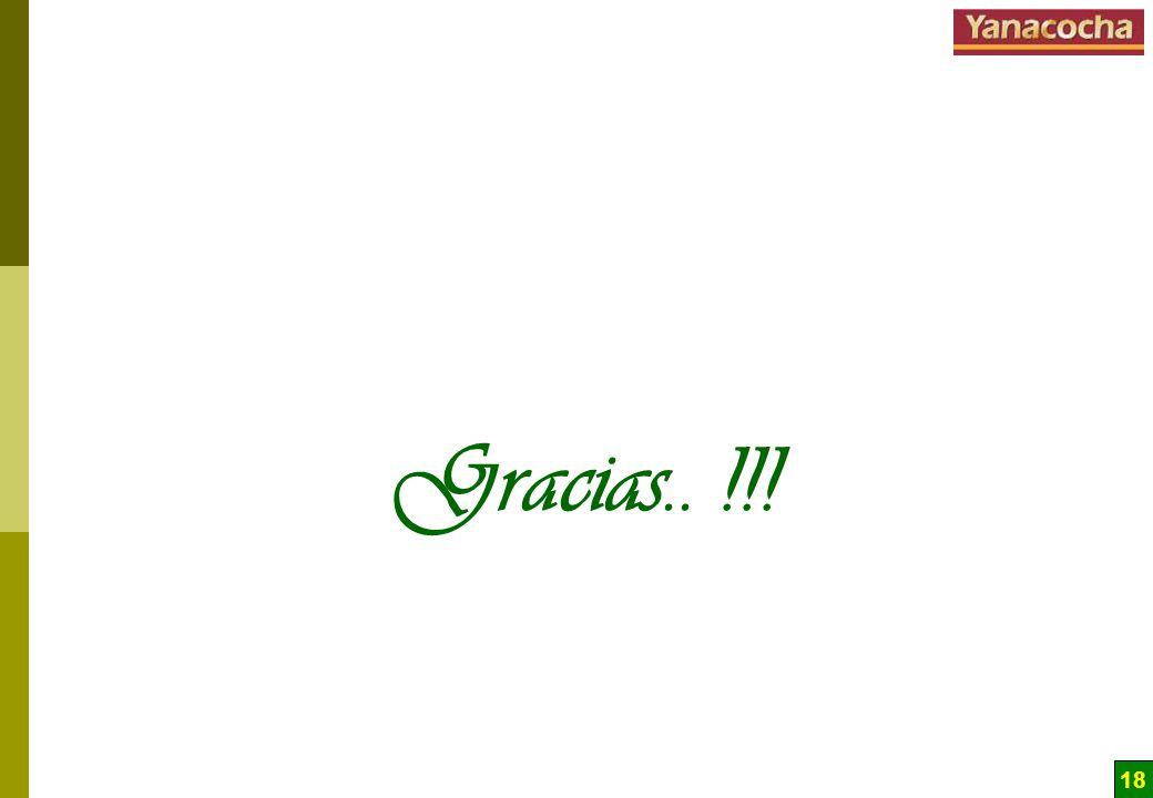 Gracias.. !!!