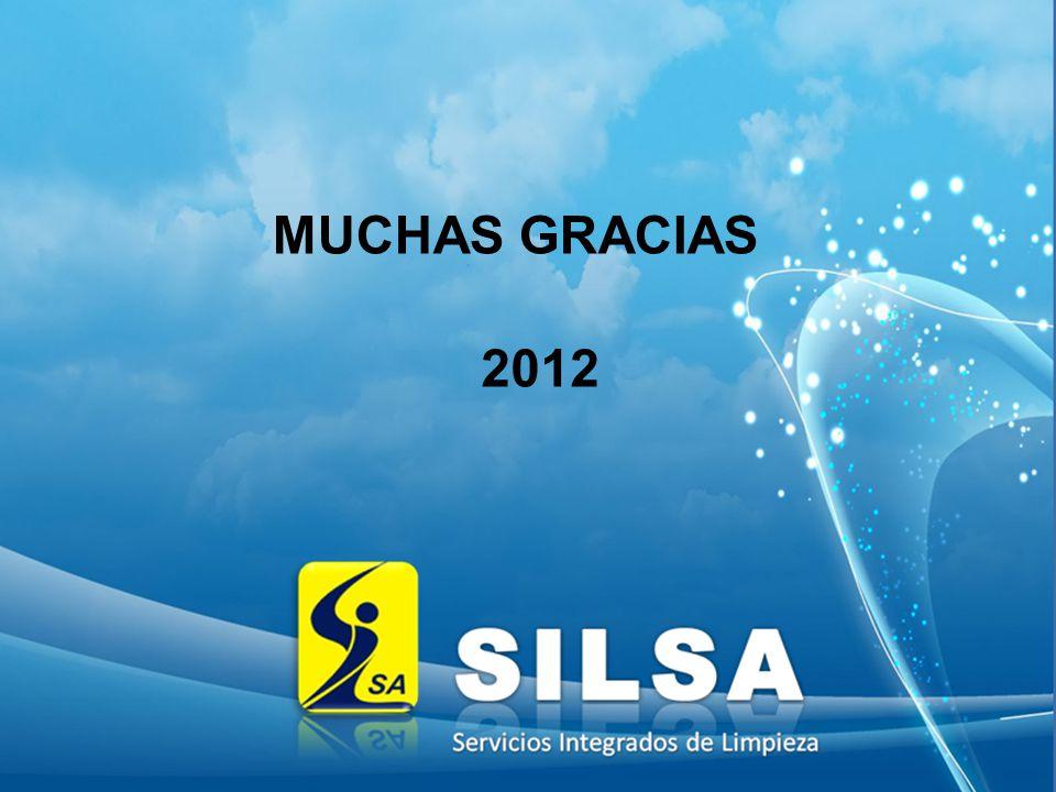 MUCHAS GRACIAS 2012