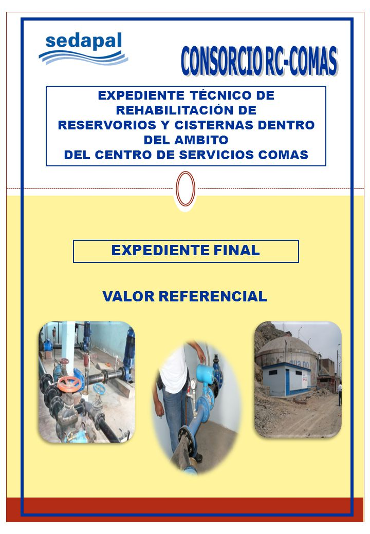 CONSORCIO RC-COMAS EXPEDIENTE FINAL VALOR REFERENCIAL
