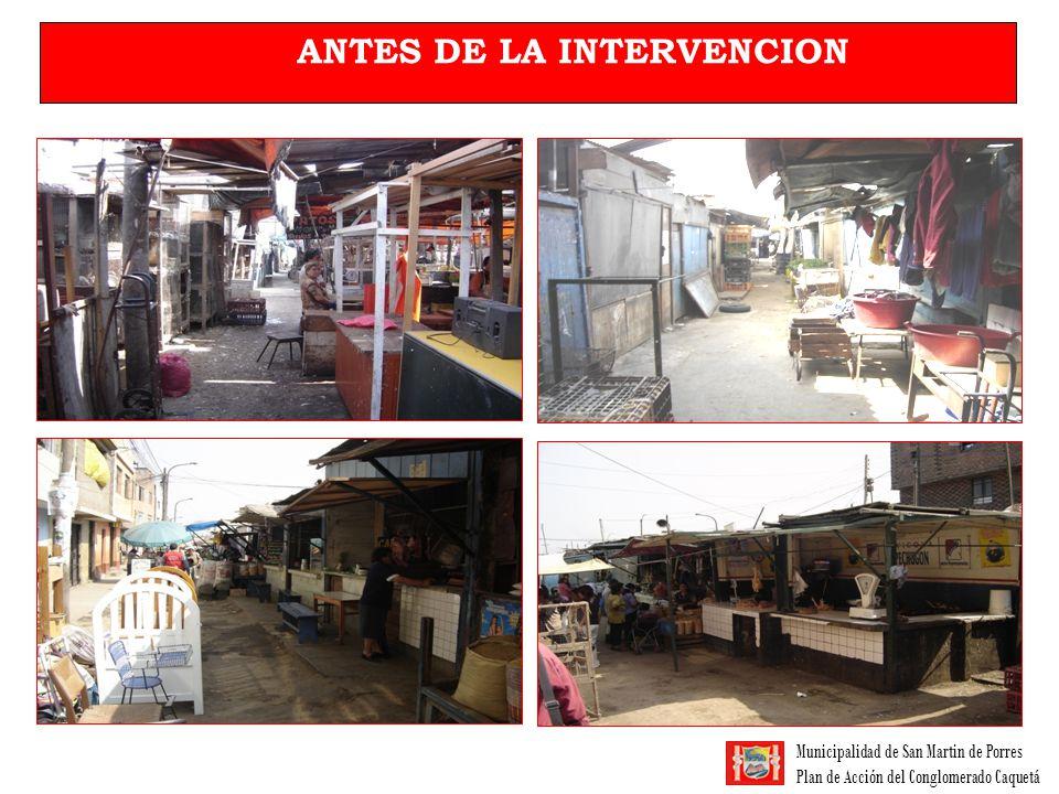 ANTES DE LA INTERVENCION