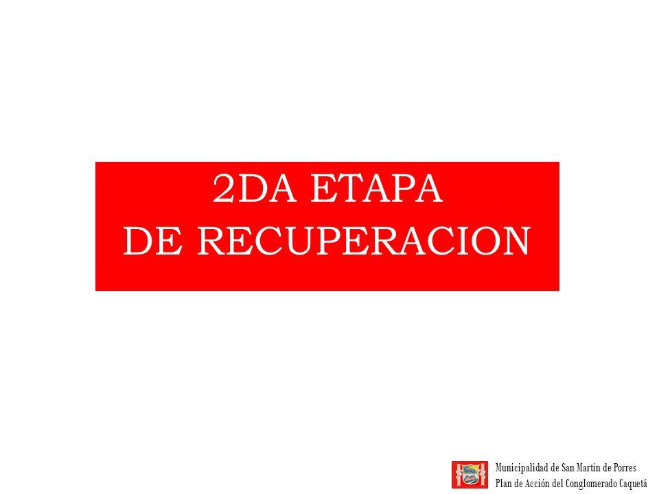 2DA ETAPA DE RECUPERACION
