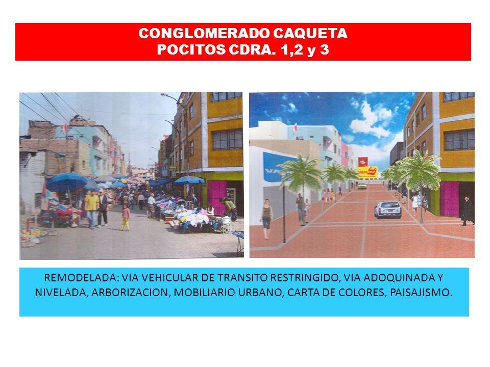 CONGLOMERADO CAQUETA POCITOS CDRA. 1,2 y 3