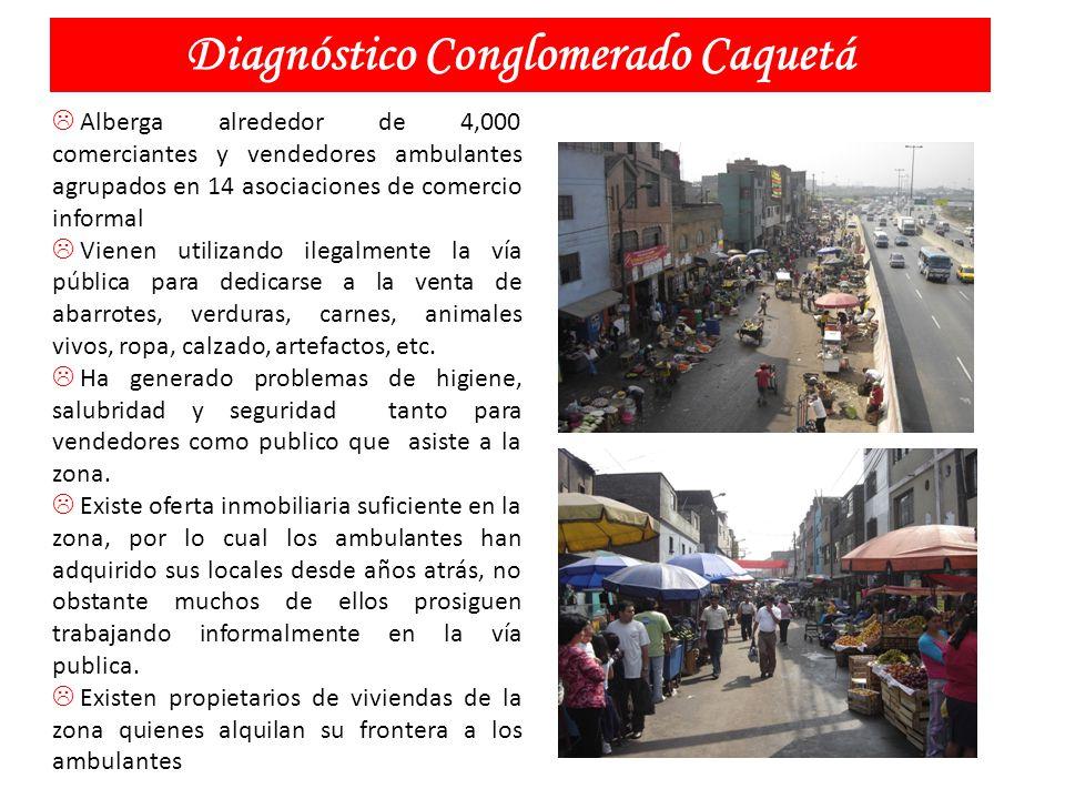 Diagnóstico Conglomerado Caquetá