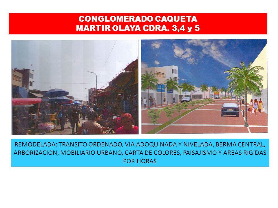 CONGLOMERADO CAQUETA MARTIR OLAYA CDRA. 3,4 y 5