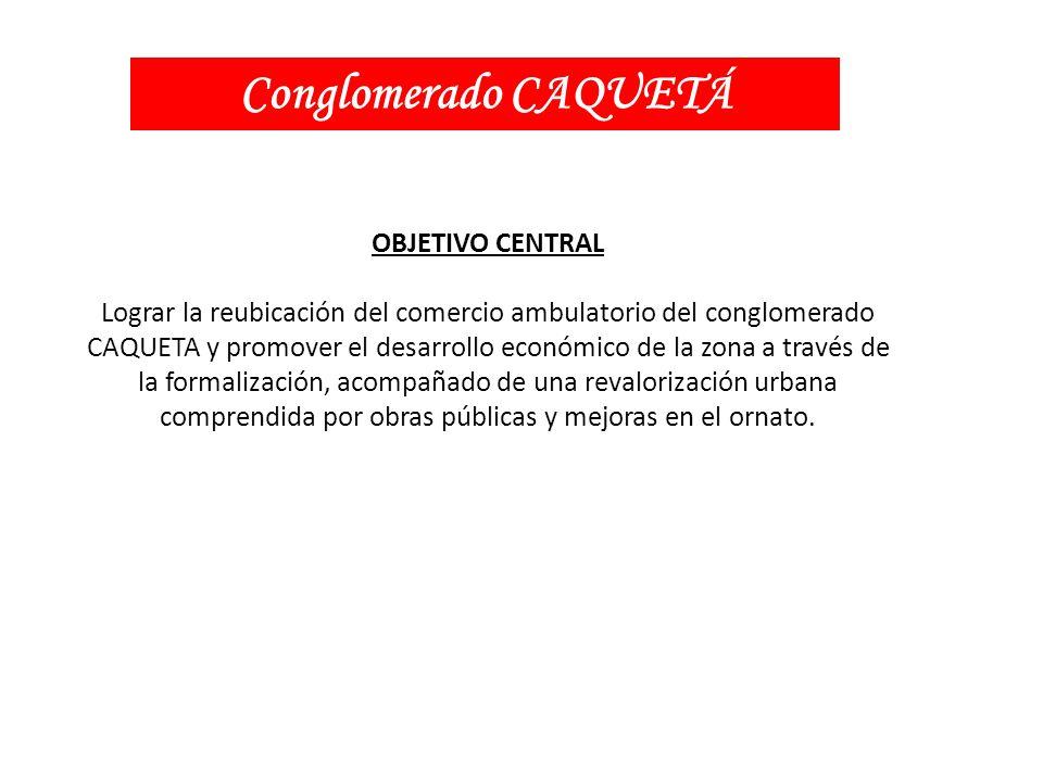 Conglomerado CAQUETÁ OBJETIVO CENTRAL