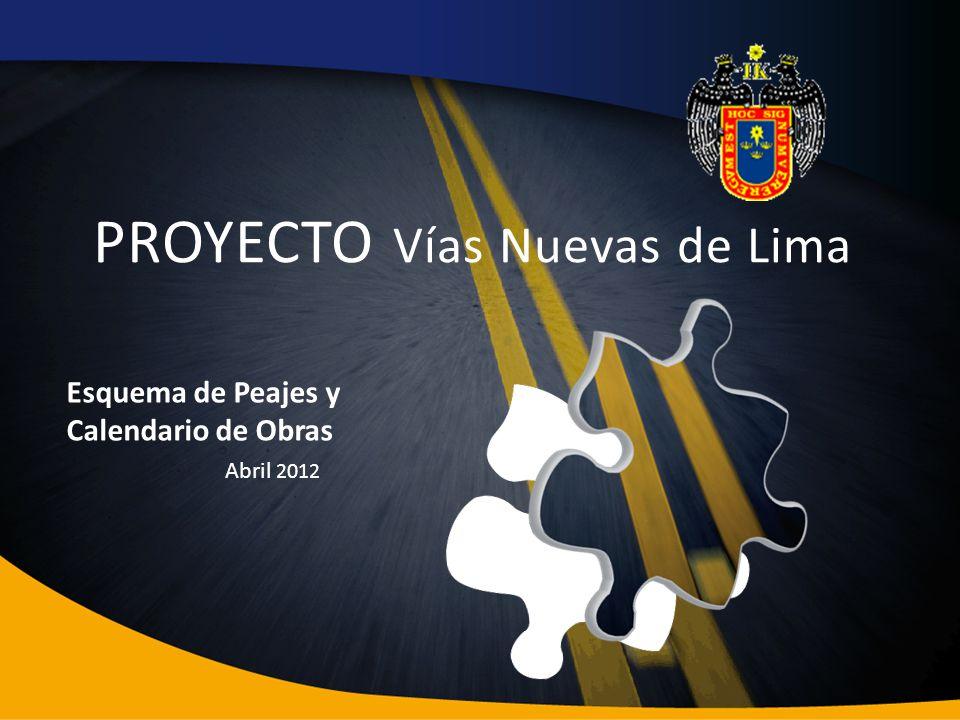 PROYECTO Vías Nuevas de Lima