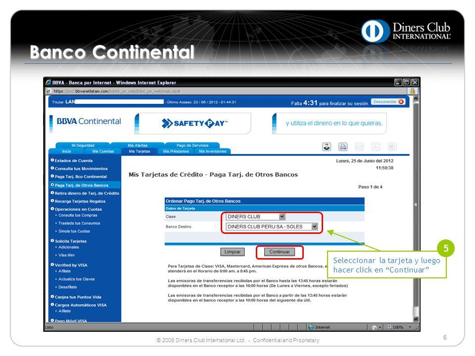 Banco Continental 5.