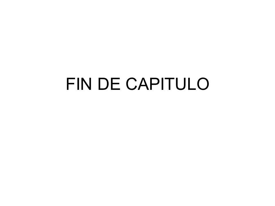 FIN DE CAPITULO
