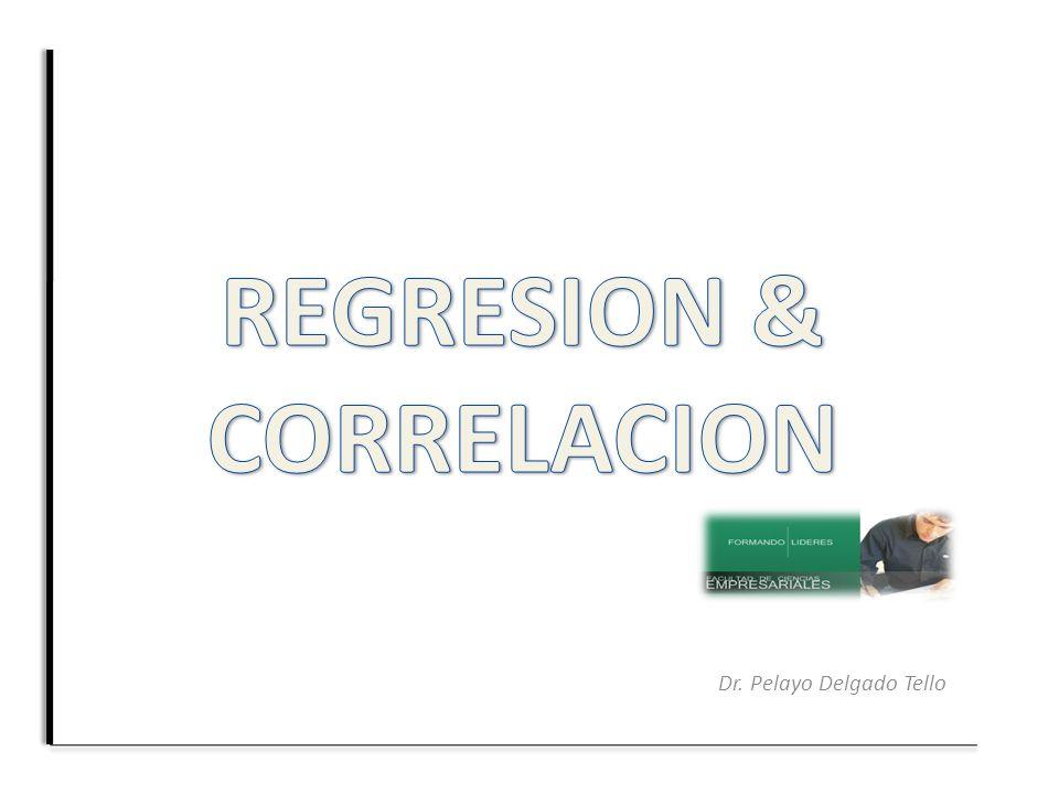REGRESION & CORRELACION