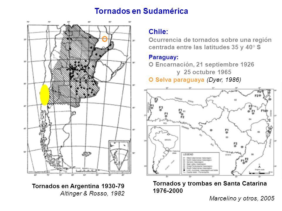 Tornados en Sudamérica